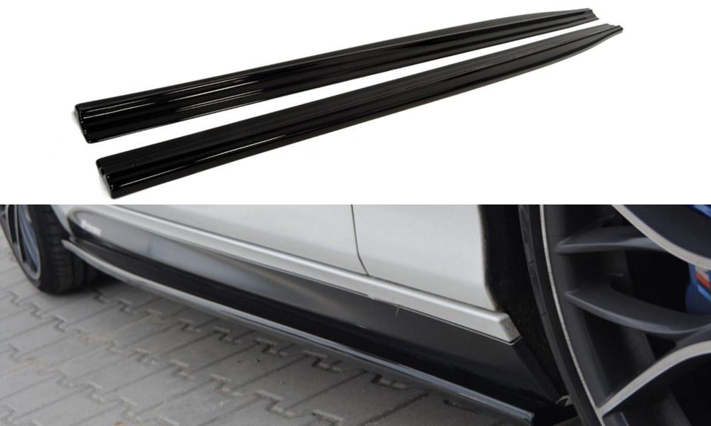 Dokładki Progów BMW 1 F20 M-Power Przedlift - GRUBYGARAGE - Sklep Tuningowy